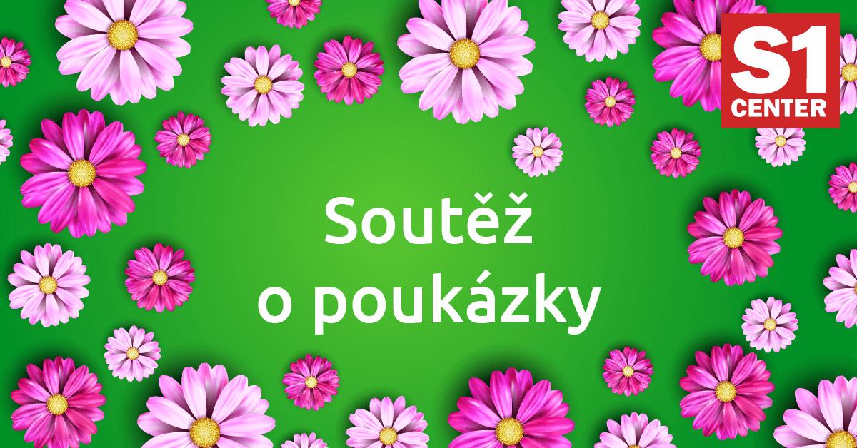 Soutěžte s S1 Center Chomutov o 10 poukázek na nákup! - www.s1chomutov.cz
