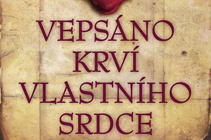 Vyhrajte dvě knihy Vepsáno krví vlastního srdce - www.klubknihomolu.cz