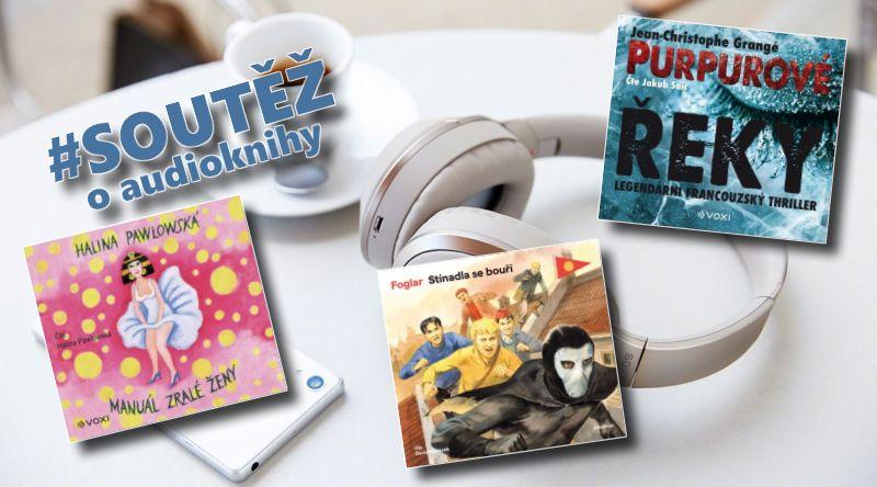 SOUTĚŽ o tři audioknihy z produkce Albatros media - www.chrudimka.cz