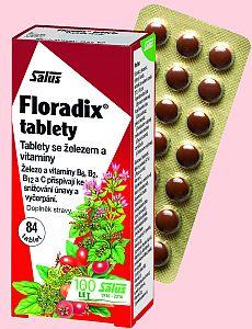 Soutěž o Salus Floradix Tablety se železem a vitamíny - www.chytrazena.cz