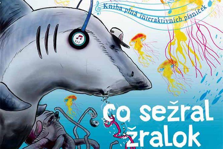 Vyhrajte tři knihy Co sežral žralok - www.klubknihomolu.cz