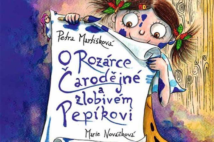 Vyhrajte dvě knihy O Rozárce Čarodějné a zlobivém Pepíkovi - www.klubknihomolu.cz