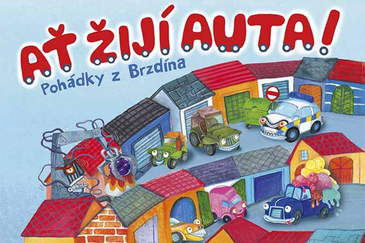Vyhrajte dvě knihy Ať žijí auta! - www.klubknihomolu.cz