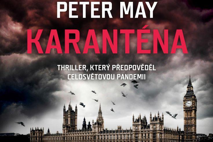 Vyhrajte tři audioknihy Karanténa - www.klubknihomolu.cz
