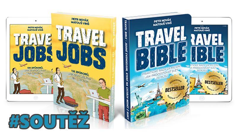 SOUTĚŽ o knihy TRAVEL BIBLE a TRAVEL JOBS - www.chrudimka.cz