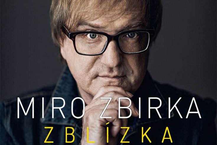 Vyhrajte tři knihy Miro Žbirka  Zblízka - www.klubknihomolu.cz