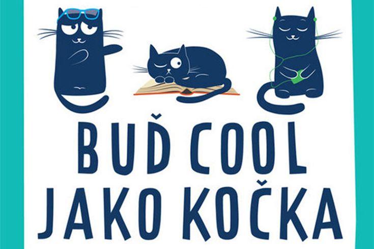 Vyhrajte dvě knihy Buď cool jako kočka - www.klubknihomolu.cz