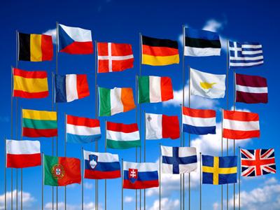 Evropské vlajky - www.pardubice.eurocentra.cz