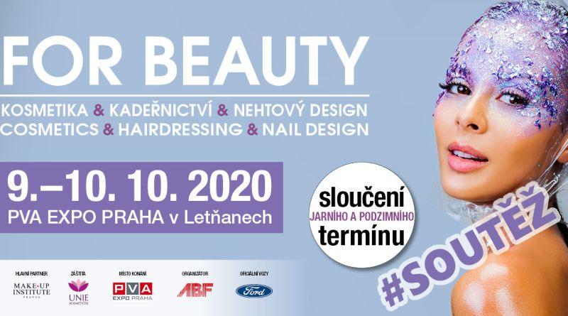 SOUTĚŽ o kosmetické balíčky a vstupenky na kosmetický veletrh FOR BEAUTY - www.chrudimka.cz