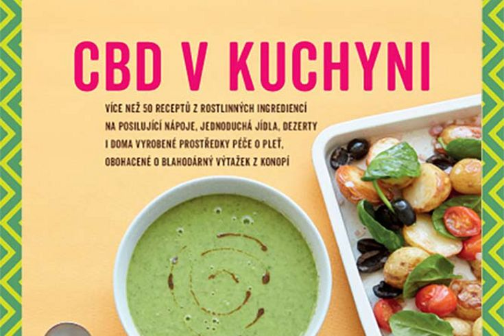 Vyhrajte dvě knihy CBD v kuchyni - www.klubknihomolu.cz
