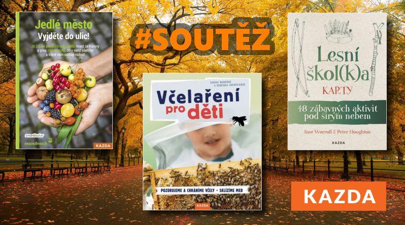SOUTĚŽ o tři knižní novinky z Nakladatelství KAZDA - www.chrudimka.cz