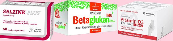 Soutěž o balíčky produktů na podporu imunity od lékárny Nympharm - www.chytrazena.cz