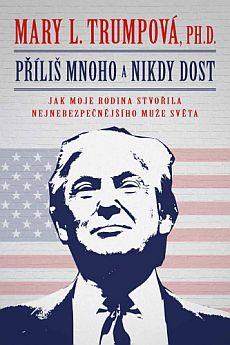 Soutěž o americký bestseller o Donaldu Trampovi Příliš mnoho a nikdy dost - www.chytrazena.cz