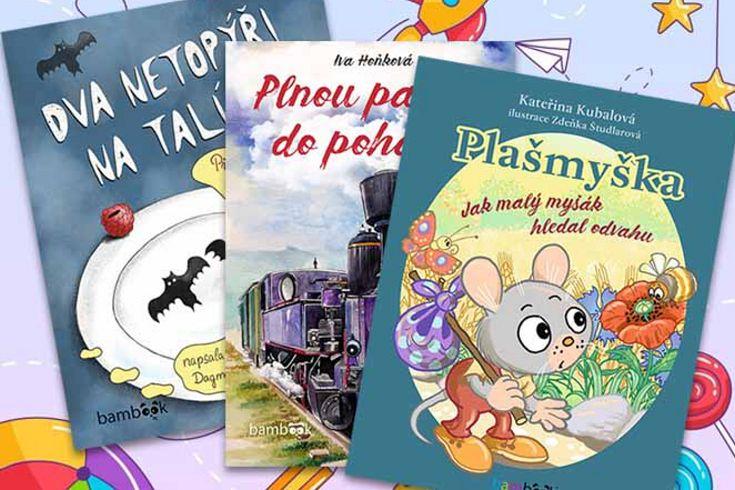 Vyhrajte knížku pro malé čtenáře dle výběru - www.klubknihomolu.cz