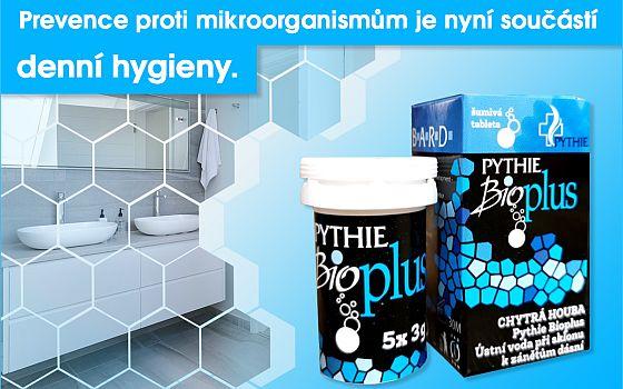Vyhrajte 3x speciální ústní vodu Pythie Bio Plus - www.chytrazena.cz