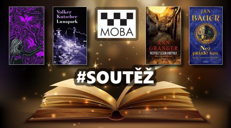 SOUTĚŽ o knižní novinky Nakladatelství MOBA - www.chrudimka.cz