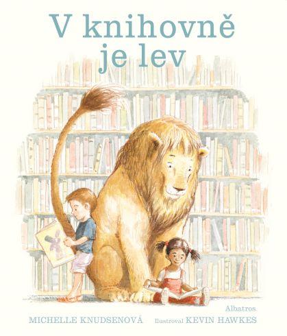 Soutěž o knížku V knihovně je lev - www.vasesouteze.cz