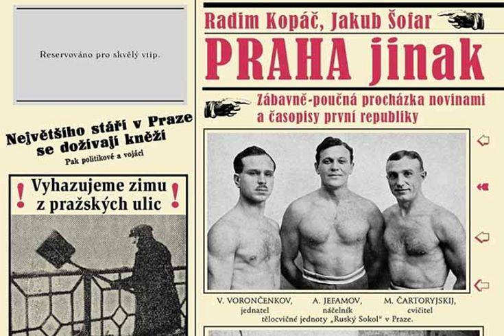 Vyhrajte dvě knihy Praha jinak - www.klubknihomolu.cz