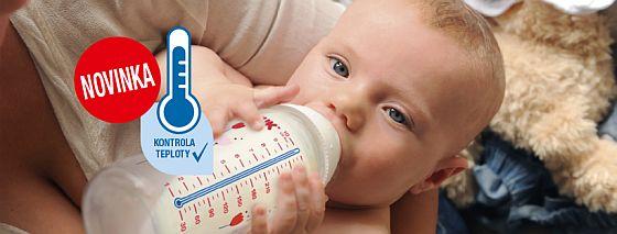 Vyhrajte první lahvičku NUK s kontrolou teploty! - www.chytrazena.cz