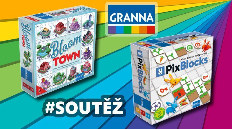 SOUTĚŽ o dvě herní novinky z vydavatelství GRANNA - www.chrudimka.cz