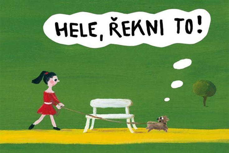 Vyhrajte tři knihy Hele řekni to! - www.klubknihomolu.cz