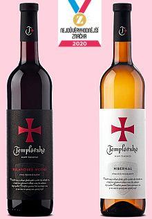 Vyhrajte výběrová vína Templářských sklepů - www.chytrazena.cz