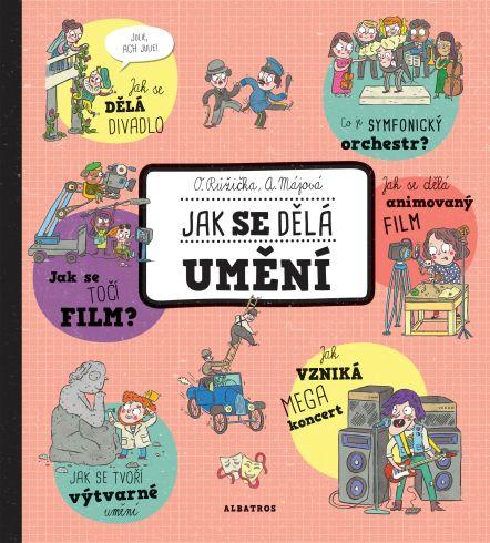 Soutěž o dětskou knihu Jak se dělá umění - www.vasesouteze.cz