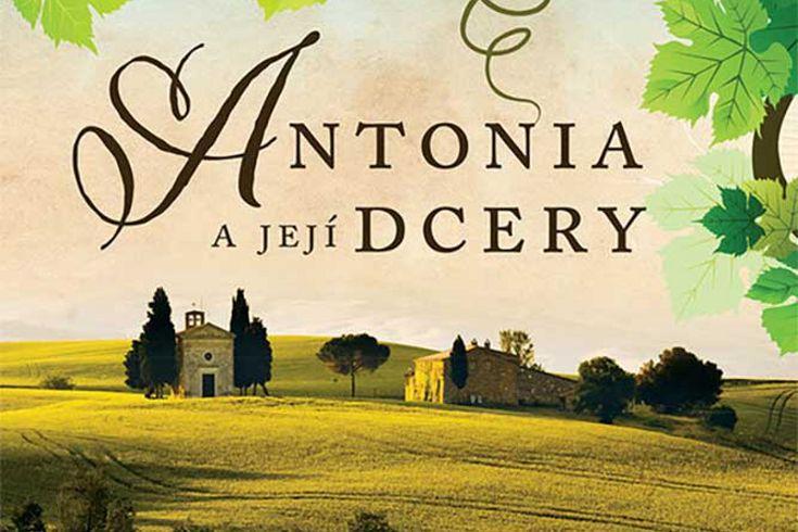 Vyhrajte tři knihy Antonia a její dcery - www.klubknihomolu.cz