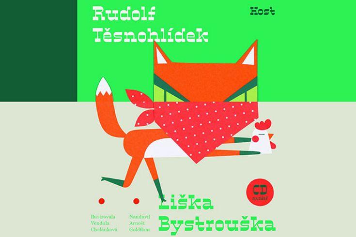 Vyhrajte dvě knihy a CD Liška Bystrouška - www.klubknihomolu.cz