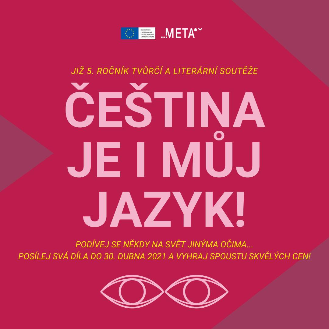 Tvůrčí a literární soutěž Čeština je i můj jazyk - www.meta-ops.eu