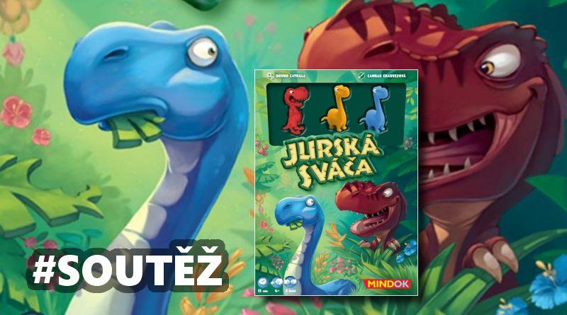 SOUTĚŽ o dětskou hru JURSKÁ SVÁČA - www.chrudimka.cz