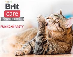 Soutěžte o Brit Care Cat funkční pasty a kapsičky pro kočky - www.chytrazena.cz