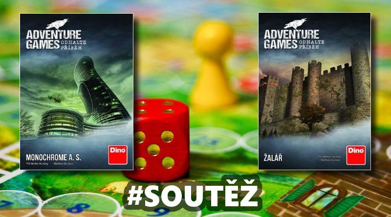 SOUTĚŽ o dvě párty hry ADVENTURE GAMES - www.chrudimka.cz