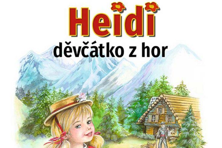 Vyhrajte dvě knihy Heidi děvčátko z hor - www.klubknihomolu.cz