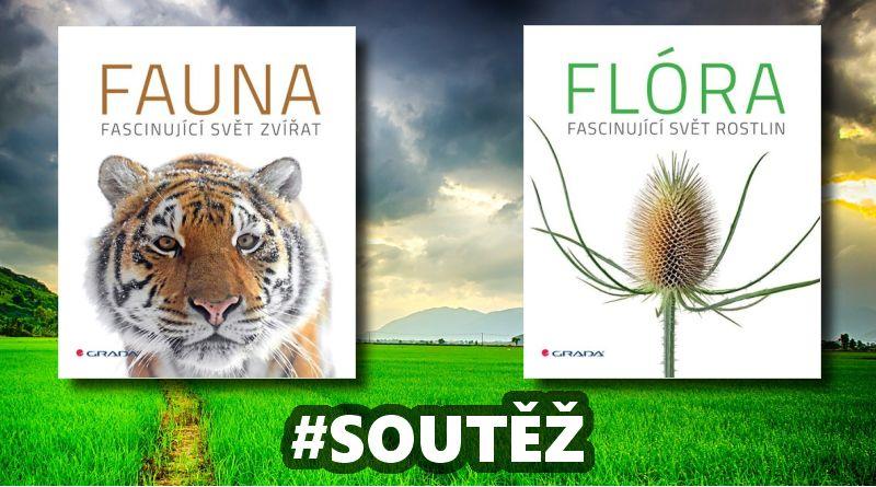 SOUTĚŽ o dvě knihy  FLÓRA a FAUNA - www.chrudimka.cz