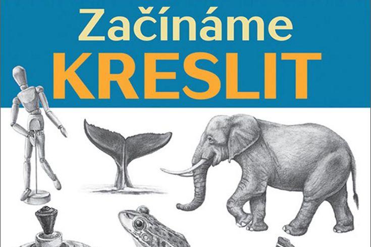 Vyhrajte tři knihy Začínáme kreslit - www.klubknihomolu.cz