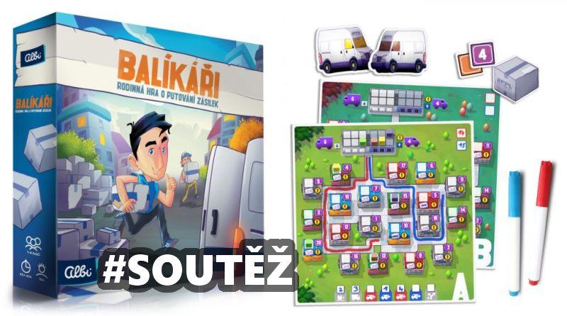 SOUTĚŽ o rodinnou hru BALÍKÁŘI - www.chrudimka.cz