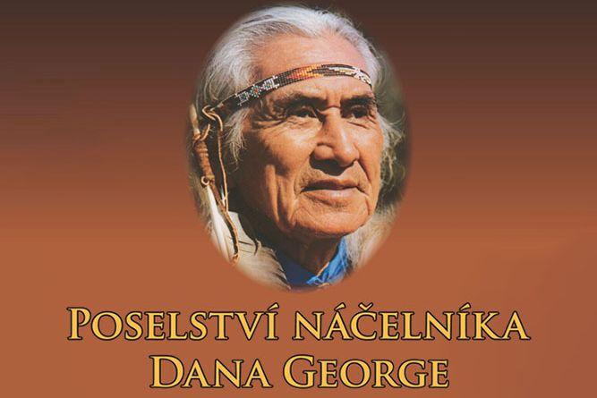 Vyhrajte tři knihy Poselství náčelníka Dana George - www.klubknihomolu.cz