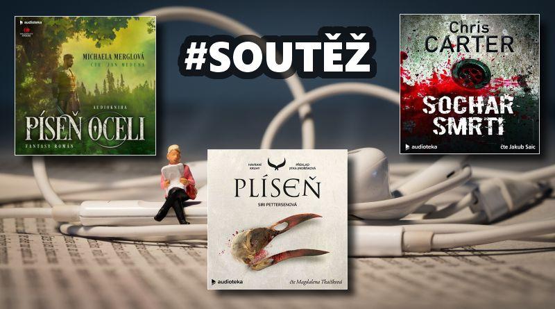SOUTĚŽ o tři audioknihy vydavatelství Audioteka - www.chrudimka.cz