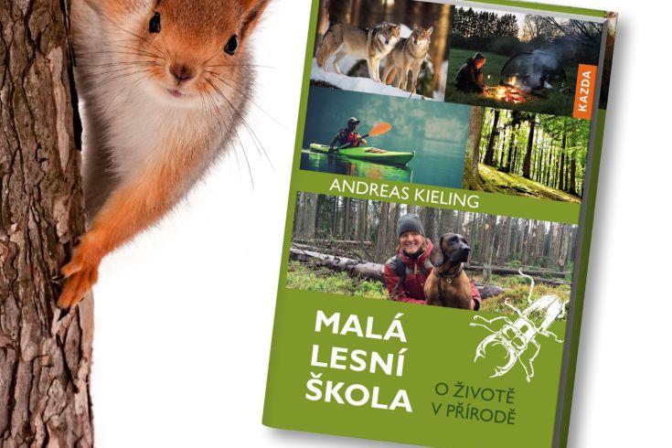Vyhrajte dvě knihy Malá lesní škola - www.klubknihomolu.cz