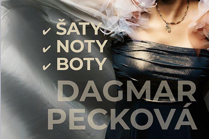 Vyhrajte tři knihy Dagmar Pecková: Šaty noty boty - www.klubknihomolu.cz
