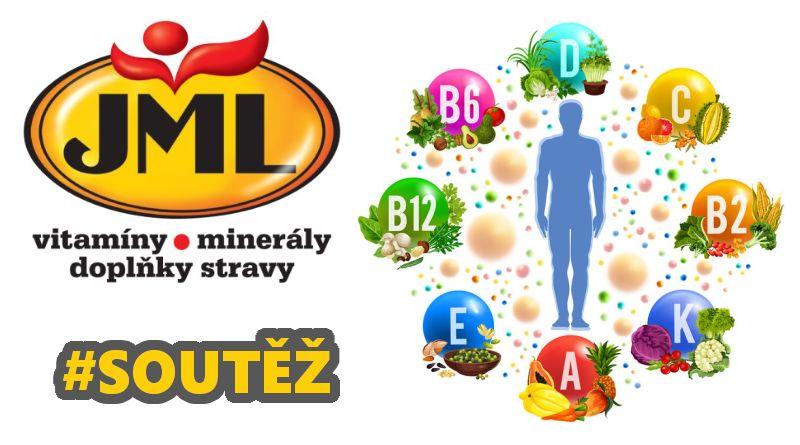 SOUTĚŽ o vitamíny minerály a doplňky stravy značky JML - www.chrudimka.cz