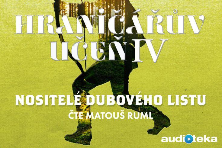 Vyhrajte tři audioknihy Nositelé dubového listu - www.klubknihomolu.cz