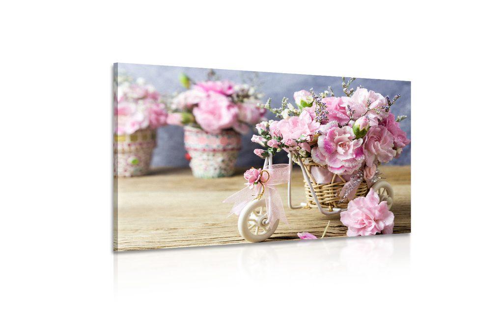 Věnujte mamince věčné květiny v podobě obrazu! - www.dovido.cz
