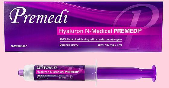 Soutěž o hydrofilní gel Hyaluron N-Medical PREMEDI - www.chytrazena.cz