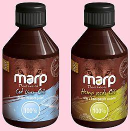 Soutěžte o kvalitní oleje MARP pro vaše mazlíčky! - www.chytrazena.cz