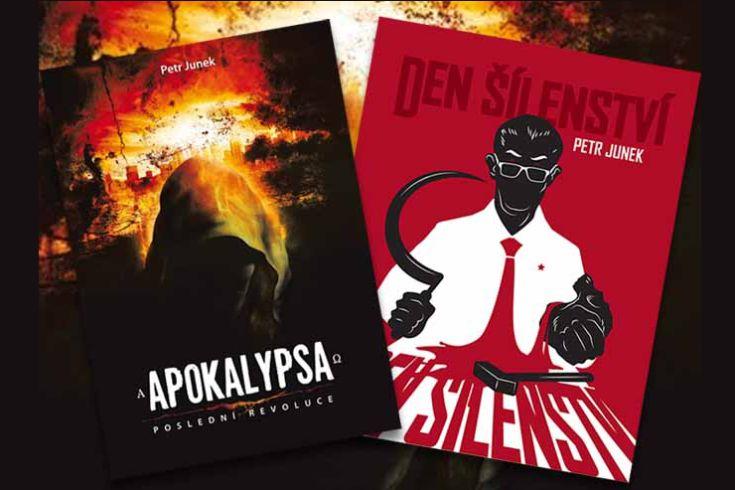 Vyhrajte tři knihy  Apokalypsa: Poslední revoluce a tři knihy Den šílenství - www.klubknihomolu.cz