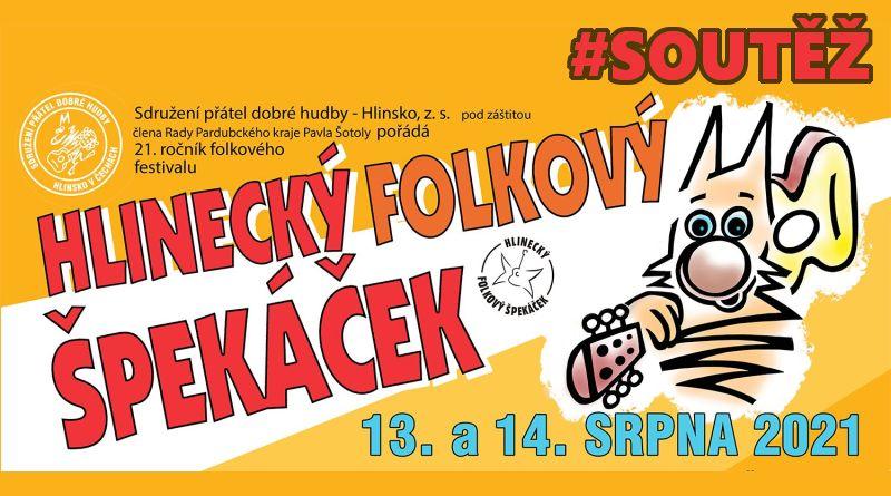 SOUTĚŽ o pět vstupenek na Hlinecký folkový špekáček - www.chrudimka.cz