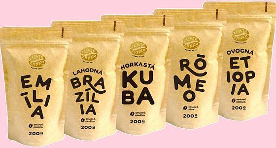 Soutěž o balíčky nejprodávanější zrnkové kávy EMÍLIA od Zlatého zrnka - www.chytrazena.cz
