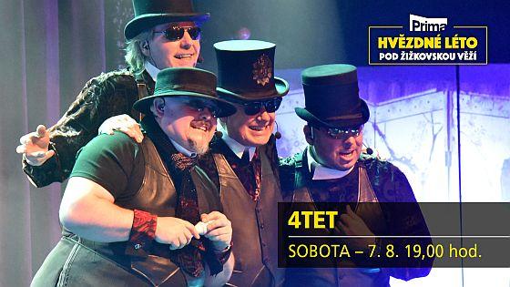 Soutěž o vstupenky na koncert fenomenálního vokálního seskupení 4TET - www.chytrazena.cz